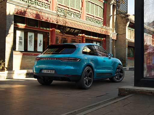 The new Macan.