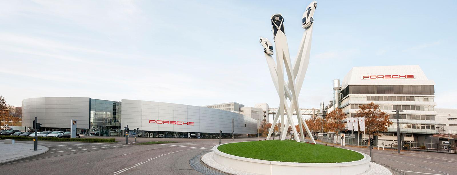 Porsche Zentrum Stuttgart 187 Herzlich Willkommen