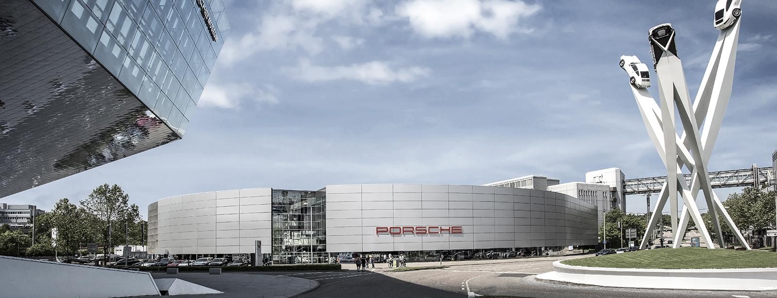 Le Centre Porsche de Stuttgart