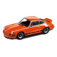 Porsche 911 RS 2.7, orange/schwarz, 1:43